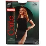Tights Conte grafit polyamide for women 40den 5size