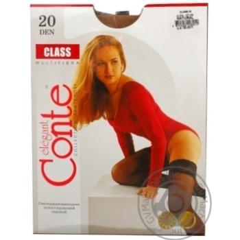 Чулки Conte Class Natural 20den размер 3-4 - купить, цены на Novus - фото 3