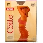 Tights Conte Active natural polyamide for women 40den 4size - buy, prices for Novus - image 7