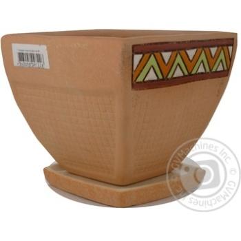 Горщик Литвин Данія керамічний малий - купити, ціни на Ашан - фото 4