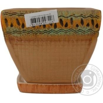 Горщик Литвин Данія керамічний малий - купити, ціни на Ашан - фото 7