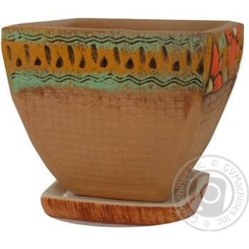 Горщик Литвин Данія керамічний малий - купити, ціни на Ашан - фото 8