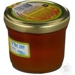 Honey Zlatomed buckwheat 170g glass jar Ukraine