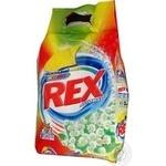 Порошок пральний Rex Яскравий колір Весняні Квіти Automat 3кг