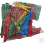 Прищіпки MTM 50шт+мотузка 20м 3117 - купить, цены на Novus - фото 3