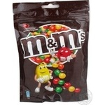 Dragee M&m's chocolate 400g soft packing Russia