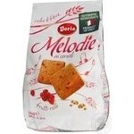 Cookies Bauli Doria melodie with bran shortbread 350g packaged Italy