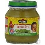 Puree Hame Broccoli for 4+ month old babies glass jar 125g Czech Republic