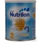 Суміш молочна Нутриція Нутрилон 2 Комфорт суха дитяча з 6 до 12 місяців залізна банка 400г Голландія