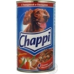 Conserve Chappi vegetable canned for pets 1200g can Austria