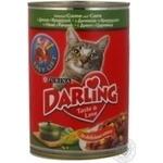 Консерва для котів Darling Дичина,Кукурудза 400г