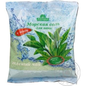 Сіль для ванн морська Бажана Зелений чай 500г х30 - купити, ціни на МегаМаркет - фото 6