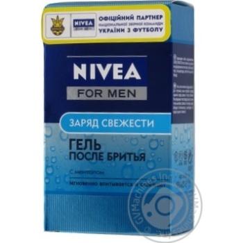 Гель після гоління Nivea Заряд свіжості 100мл