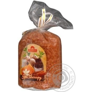Сіль для ванн Желана морська шоколад з корицею 300г - купити, ціни на МегаМаркет - фото 1