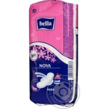Прокладки гігієнічні Bella Nova Deo 10шт