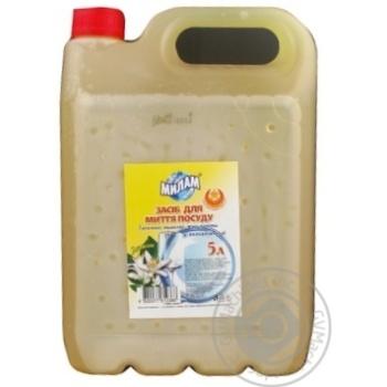 Засіб для миття посуду МілаМ лимон 5л