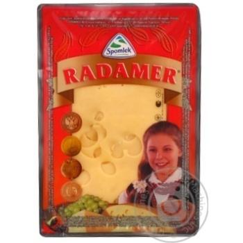 Сыр твердый Spomlek Радамер 45% нарезка 150г
