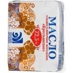 Масло Молочное кружево Крестьянское молоко 72.5% 200г Украина
