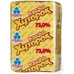 Butter Rud Peasant style cream sweet cream 73% 100g Ukraine