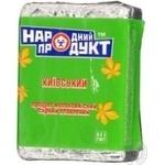 Продукт сырный Народный Продукт Киевский плавленый молокосодержащий 50% 90г Украина