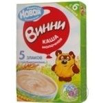 Baby milk porridge Vinni 5 cereals with prebiotics dry quick-cooking for 5+ months babies 220g Russia