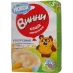 Каша детская Винни Кукурузная молочная с пребиотиками без глютена сухая быстрорастворимая с 5 месяцев 220г Россия