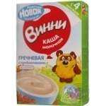 Baby milk porridge Vinni Buckwheat with prebiotics gluten-free dry quick-cooking for 4+ months babies 220g Russia