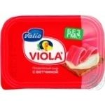 Processed cheese spread Viola with ham 60% 200g plastic cup Finland