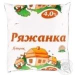 Ряженка Хуторок 4% 450г пленка Украина