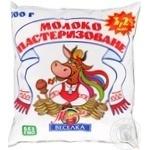 Молоко Молочная радуга Радуга пастеризованное 3.2% 500мл полиэтиленовый пакет Украина
