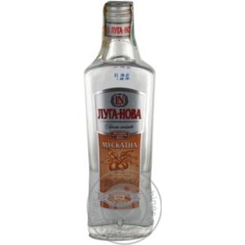 Водка Луга нова Мускатная 40% 500мл стеклянная бутылка Украина