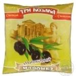 Mayonnaise Tri kozaka Olive 40% 380g Ukraine
