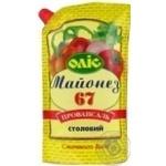 Mayonnaise Olis Provansal 67% 720g Ukraine