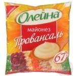 Майонез Олейна Провансальський 67% 400г Україна