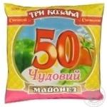 Mayonnaise Tri kozaka Chudoviy 50% 380g Ukraine