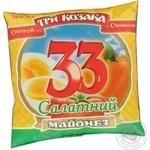 Mayonnaise Tri kozaka Salad 33% 380g Ukraine