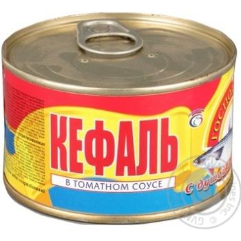 Fish mullet Hospodarochka canned 240g can