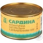 Fish sardines A1 canned 230g can