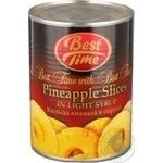 Fruit pineapple Best time in syrup 580ml can Thailand