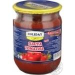 Паста томатная Холидэй 540г стеклянная банка