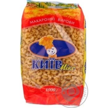 Pasta elbows Afe bushtruk Kiev mix 1000g Ukraine