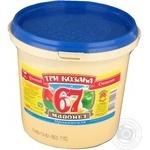 Mayonnaise Tri kozaka Provansal 67% 800g bucket Ukraine