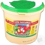 Mayonnaise Tri kozaka Salad 33% 800g bucket Ukraine