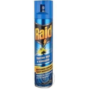Аэрозоль Raid от мух пчел и комаров 300мл - купить, цены на Novus - фото 4