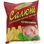 Снек Золоте зерно Салют кукуруза с бужениной 45г Украина