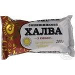 Halva Esto sunflower with cocoa 200g Ukraine