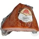Ham Saltivskiy myasokombinat Imperial pork smoked-boiled Ukraine