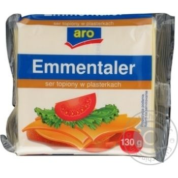 Processed cheese Aro Emmentaler 36.2% 130g