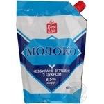 Молоко сгущенное Файн Лайф цельное с сахаром 8.5% 480г дой-пак Украина