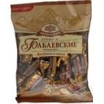 Candy Confectionary concern babaevsky with hazelnuts 250g Russia